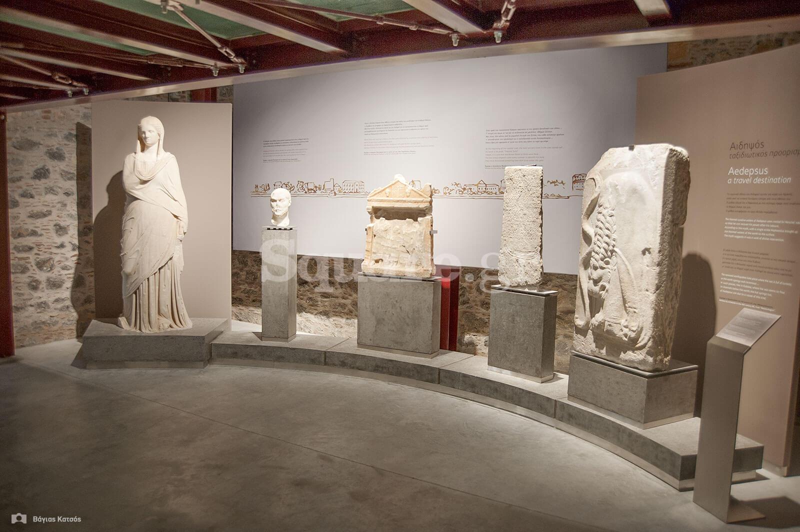 3-Εκθέματα-Κλασικής-Ελληνιστικής-και-Ρωμαϊκής-εποχής-Αιδηψός-μουσείο-Αρέθουσας