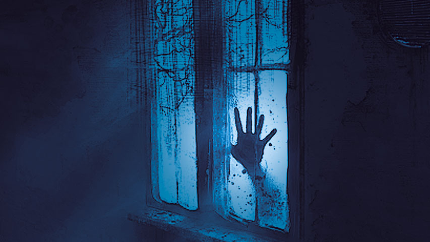 Ο απροσδόκητος επισκέπτης στο παράθυρο