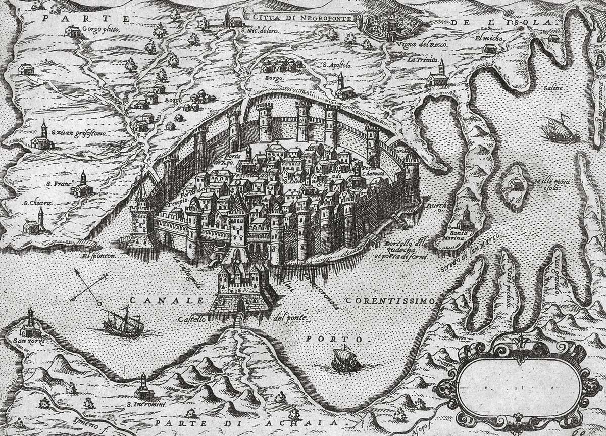 1-O-χάρτης-του-Giovanni-Francesco-Camocio-Πρωτότυπος-τίτλος-Città-di-Negroponte-Χρονολογία-έκδοσης-1574-Συλλογή-Βιβλιοθήκης-Ιδρύματος-Αικατερίνης-Λασκαρίδη